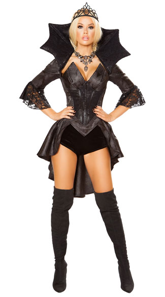 Queen Of Darkness Costume, Evil Queen Costume - Yandy.com