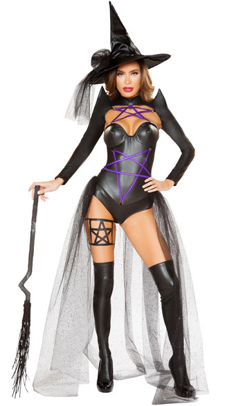 Dark Witch Costume, Bodacious Witch Costume - Yandy.com