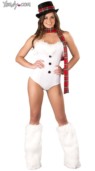 Ice Queen Christmas Costume