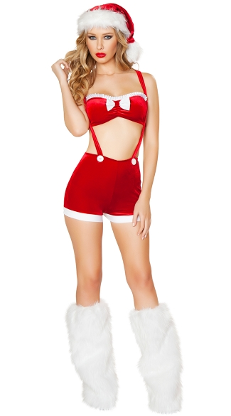 Holiday Joy Christmas Outfit, Sexy Christmas Costume, Sexy Santa Costume
