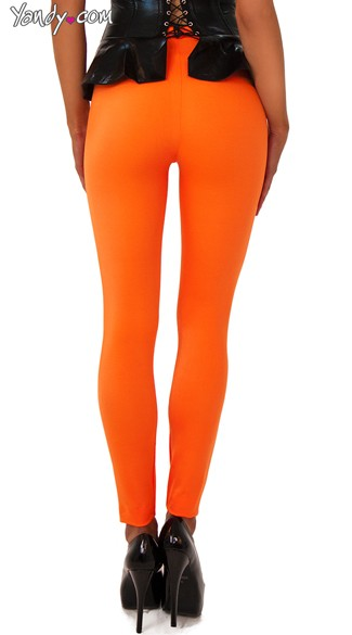 High Waist Neon Leggings