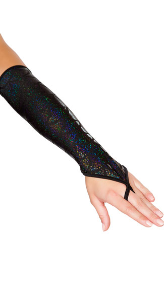 Fingerless Mermaid Gloves, Shimmery Mermaid Gloves, Mermaid Gloves