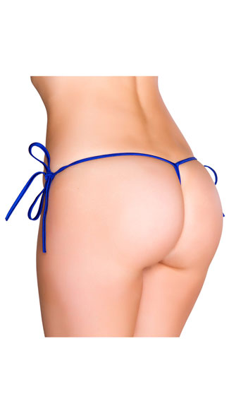 String Back Tie Side Bottom