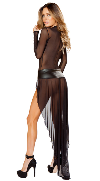 Decadent Sheer Robe and G-String