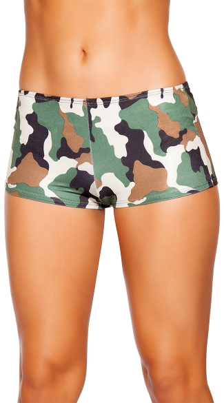 Women's Lace Trimmed Boy Short Woodland Camo $ 19 Calvin Klein. Women's Modern Cotton Camo Bikini Panty. from $ 15 00 Prime. Mossy Oak. Women's Padded Bra Breakup Country Camo with Aqua Accents. Huntress Purple Camo Boy Shorts Underwear Panty With Black Lace - Panties. from $ 10 1 out of 5 stars 1.
