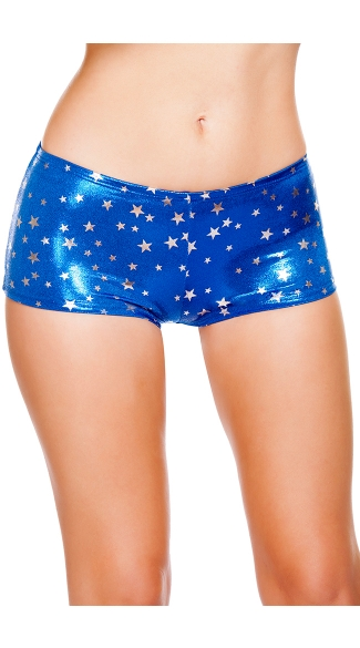 Stars Boy Shorts, Fourth of July Shorts, Star Shorts