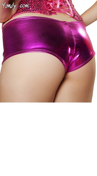Metallic Cheek Shorts