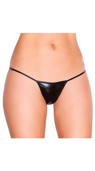 Metallic Thong Panty