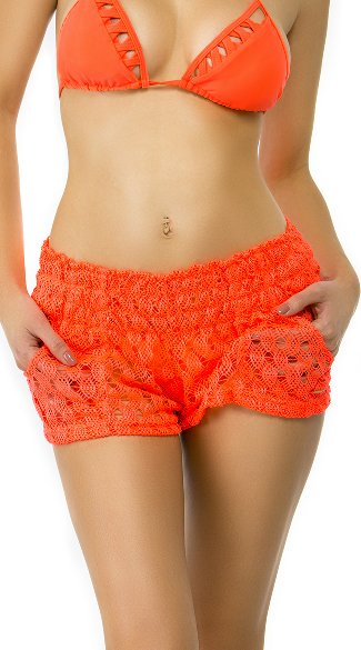 Crochet Cover Shorts