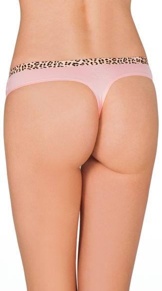 Blush Pink Smooth Operator Thong