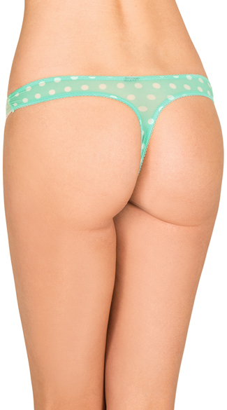 Mint So Over It Thong