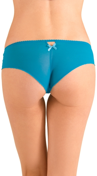 Teal Amour Hipster Panty
