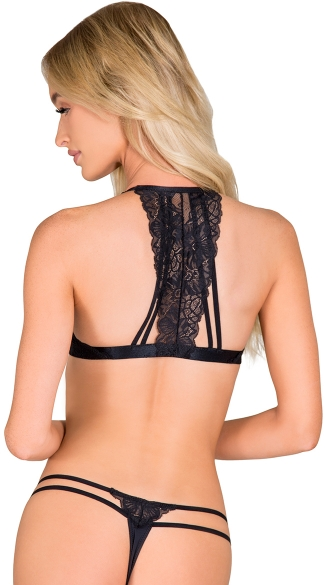 It\'s A Frenzy Black Bra