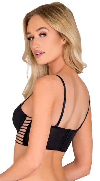 Black Palm Springs Vibes Bra