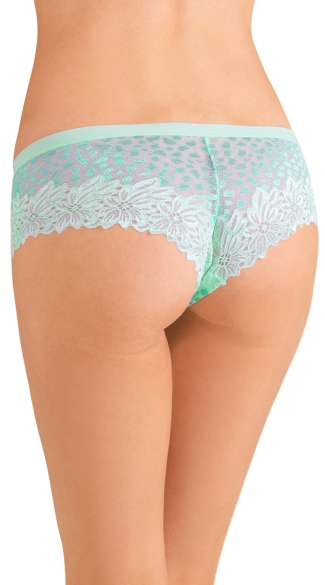 Blue Mixed Intentions Hipster Panty