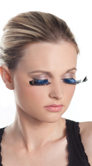Blue Flirty Eyelashes