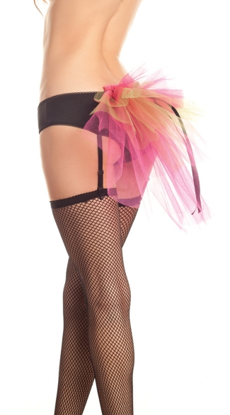 Bustle Panty With Garters