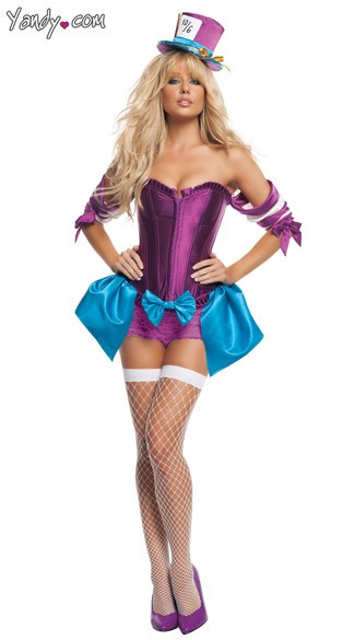 Sexy Mad Hatter Costume