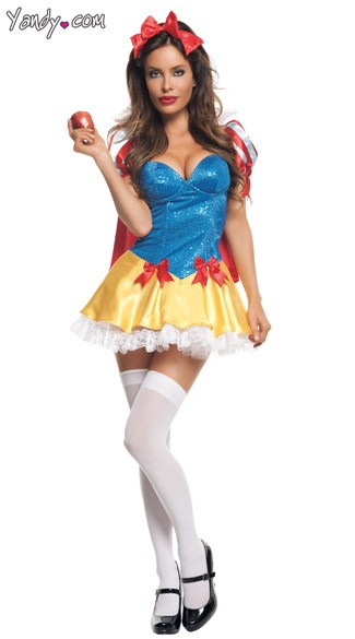 Sequin Snow White Costume