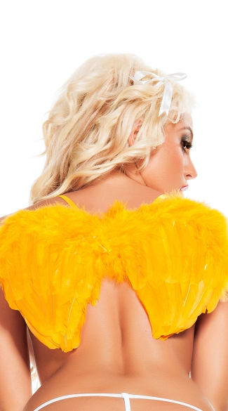 Neon Orange Mini Wings