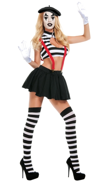 Hot Mime Costume
