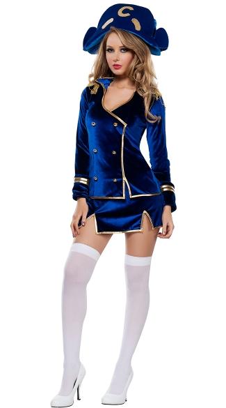 Captain Costume, Blue Velvet Captain