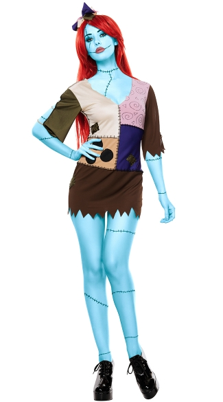 Stitched Up Rag Doll Costume