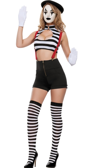 Teasing Mime Costume