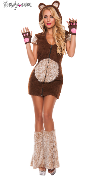 Sexy Cuddle Me Bear Costume