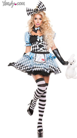 Glam Alice Costume