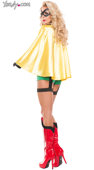 Sidekick Girl Superhero Costume
