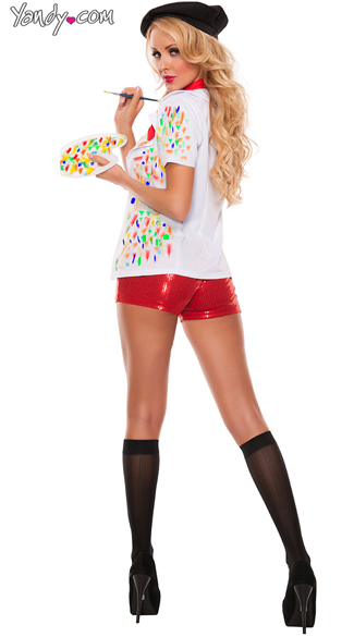Picasso Girl Painter Costume