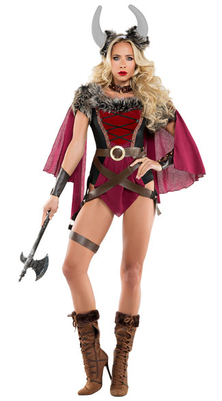 Voluptuous Viking Costume, Sexy Voluptuous Viking Costume, viking costume, sexy viking costume, warrior costume, sexy warrior costume
