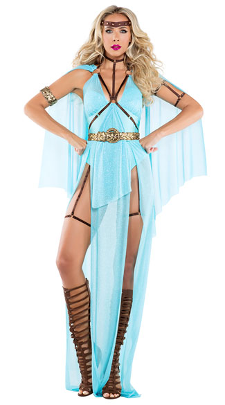 Goddess Of War Costume, Sexy Goddess Of War Costume, war goddess costume, sexy war goddess costume, goddess costume, sexy goddess costume, warrior costume, sexy warrior costume