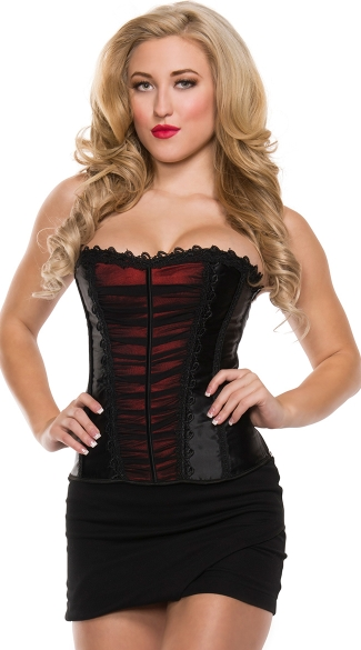 Plus Size Madly In Love Corset