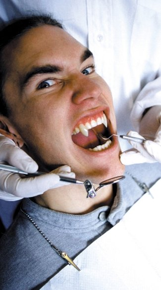 from Cade teeth gay vampire