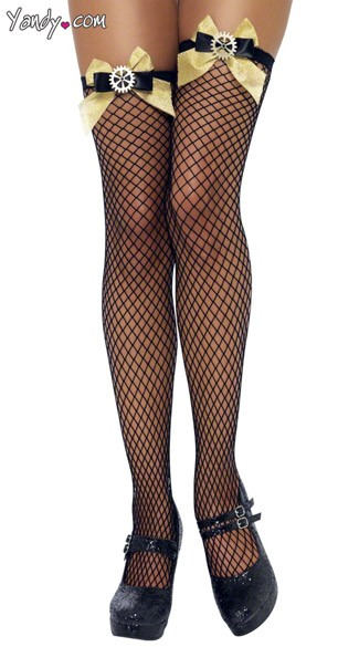 Clock Cog Fishnet Stockings, Steampunk Stockings, Steam Punk Stockings