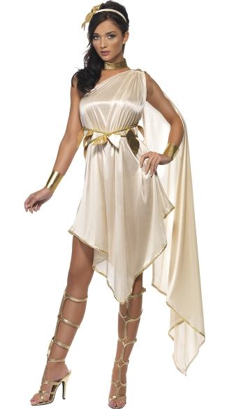 Enchanting Fever Goddess Costume, Greek Goddess Costume, Roman Costume