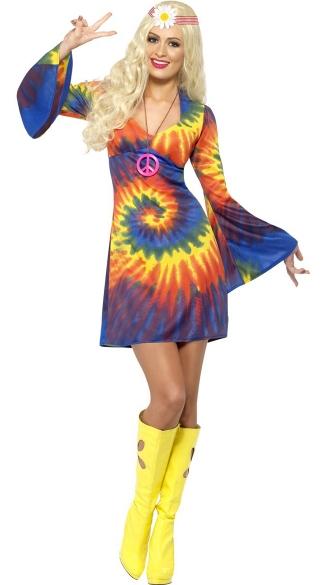 60s Tie Dye Baby Costume 1960s Costume Hippie Costume