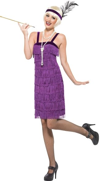 Sexy Jazz Flapper Costume, Flapper Costume, Sexy 1920s Costume