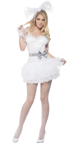 80\'s Dance Queen Costume, 80s Pop Star Costume, 80s Singer Costume