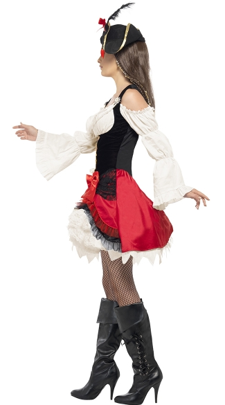 Glamorous Lady Pirate Costume