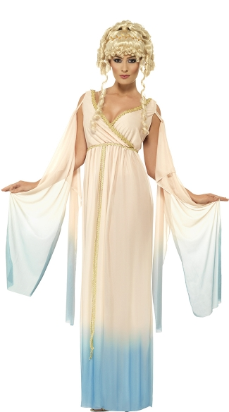Grecian Princess Costume, Greek Goddess Costume, Toga Costume