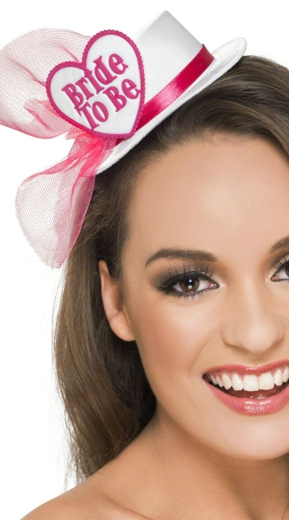 Bride to Be Fascinator Hat