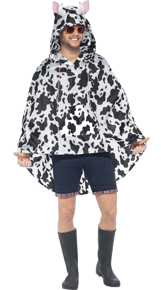 Cow Party Poncho Costume