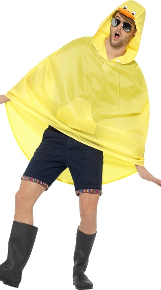 Duck Party Poncho Costume