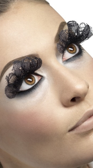 Fever Black Lace Eyelashes