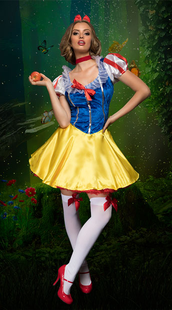 Fever Fairytale Costume, Yellow and Blue Princess Costume