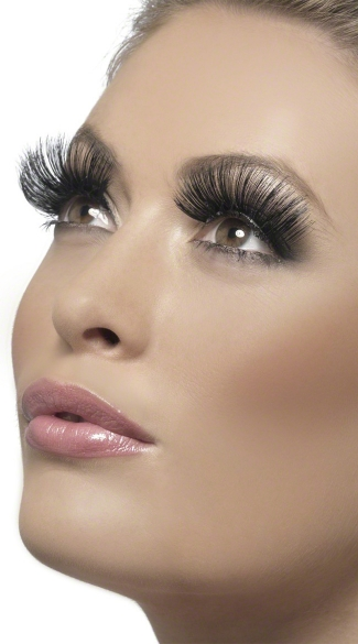 Extra Long Black Eyelashes, Sexy Eyelashes, Long Eyelashes