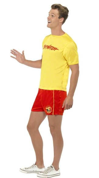 Baywatch Dude Costume